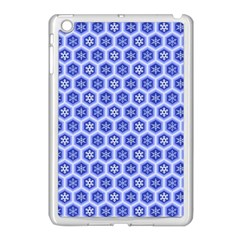 A Hexagonal Pattern Apple Ipad Mini Case (white)