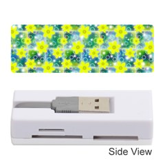 Narcissus Yellow Flowers Winter Memory Card Reader (stick)
