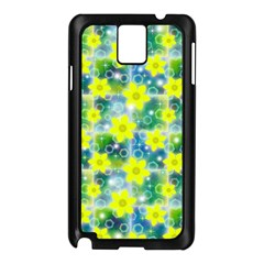 Narcissus Yellow Flowers Winter Samsung Galaxy Note 3 N9005 Case (black)