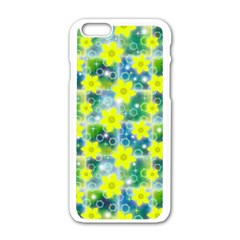Narcissus Yellow Flowers Winter Apple Iphone 6/6s White Enamel Case