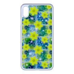 Narcissus Yellow Flowers Winter Apple Iphone Xs Max Seamless Case (white)