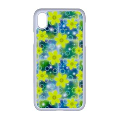Narcissus Yellow Flowers Winter Apple Iphone Xr Seamless Case (white)