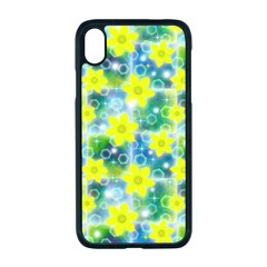 Narcissus Yellow Flowers Winter Apple Iphone Xr Seamless Case (black)