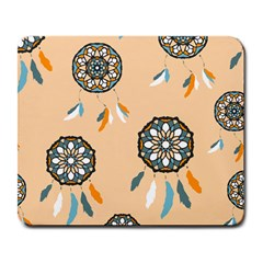 Dreamcatcher Pattern Pen Background Large Mousepads