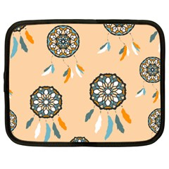 Dreamcatcher Pattern Pen Background Netbook Case (xxl)