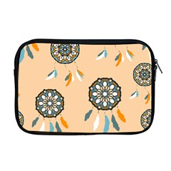 Dreamcatcher Pattern Pen Background Apple Macbook Pro 17  Zipper Case