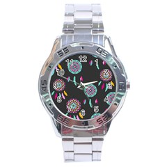 Dreamcatcher Seamless American Stainless Steel Analogue Watch