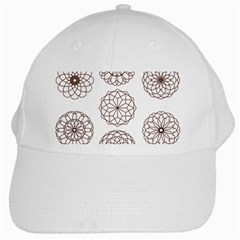 Graphics Geometry Abstract White Cap