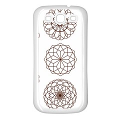 Graphics Geometry Abstract Samsung Galaxy S3 Back Case (white)
