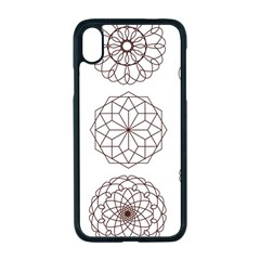 Graphics Geometry Abstract Apple Iphone Xr Seamless Case (black)