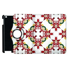 Christmas Wallpaper Background Apple Ipad 3/4 Flip 360 Case