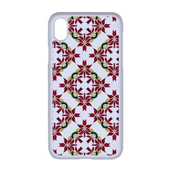 Christmas Wallpaper Background Apple Iphone Xr Seamless Case (white)