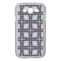 Pattern Cross Geometric Shape Samsung Galaxy Grand Duos I9082 Case (white)