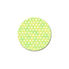 Traditional Patterns Hemp Pattern Green Golf Ball Marker