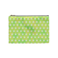 Traditional Patterns Hemp Pattern Green Cosmetic Bag (medium)