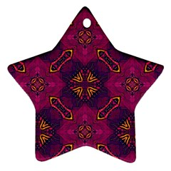 Backdrop Background Cloth Colorful Ornament (star)