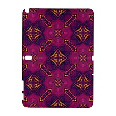 Backdrop Background Cloth Colorful Samsung Galaxy Note 10 1 (p600) Hardshell Case