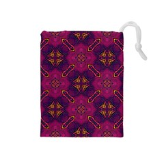 Backdrop Background Cloth Colorful Drawstring Pouch (medium)