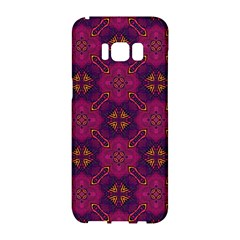 Backdrop Background Cloth Colorful Samsung Galaxy S8 Hardshell Case