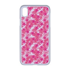 Phlox Spring April May Pink Apple Iphone Xr Seamless Case (white)