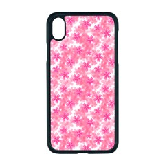 Phlox Spring April May Pink Apple Iphone Xr Seamless Case (black)