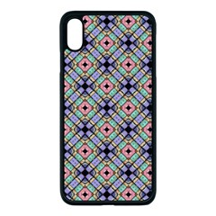 Pattern Wallpaper Background Apple Iphone Xs Max Seamless Case (black)