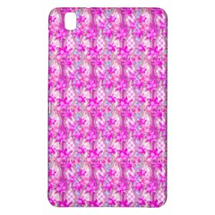 Maple Leaf Plant Seamless Pattern Pink Samsung Galaxy Tab Pro 8 4 Hardshell Case by Pakrebo
