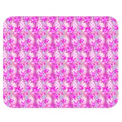 Maple Leaf Plant Seamless Pattern Pink Double Sided Flano Blanket (medium)  by Pakrebo
