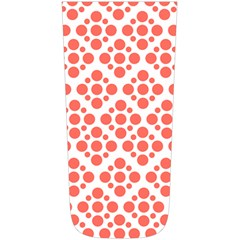 Floral Dot Series   Living Coral And White Simple Shoulder Bag