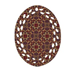 Pattern Decoration Art Ornate Ornament (oval Filigree)