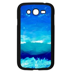 Blue Sky Artwork Drawing Painting Samsung Galaxy Grand Duos I9082 Case (black)