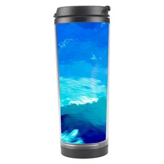 Blue Sky Artwork Drawing Painting Travel Tumbler