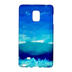 Blue Sky Artwork Drawing Painting Samsung Galaxy Note Edge Hardshell Case