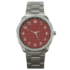 Polka Dots (small) Sport Metal Watch