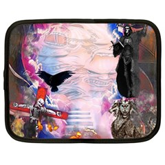Crusified Netbook Case (large)