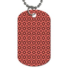 Sunny Floral  Dog Tag (two Sides)