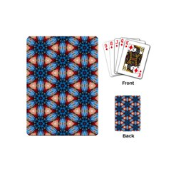 Pattern Tile Background Seamless Playing Cards (mini)