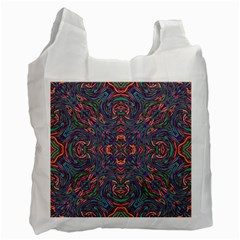 Tile Repeating Colors Textur Recycle Bag (one Side) by Pakrebo