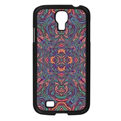 Tile Repeating Colors Textur Samsung Galaxy S4 I9500/ I9505 Case (black) by Pakrebo