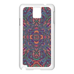 Tile Repeating Colors Textur Samsung Galaxy Note 3 N9005 Case (white) by Pakrebo