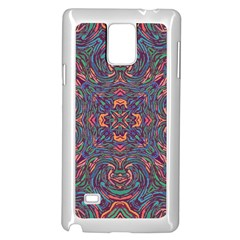 Tile Repeating Colors Textur Samsung Galaxy Note 4 Case (white) by Pakrebo