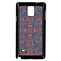 Tile Repeating Colors Textur Samsung Galaxy Note 4 Case (black) by Pakrebo