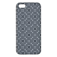Black White Geometric Background Iphone 5s/ Se Premium Hardshell Case
