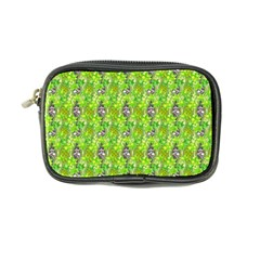Maple Leaf Plant Seamless Pattern Coin Purse