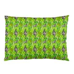 Maple Leaf Plant Seamless Pattern Pillow Case (two Sides)