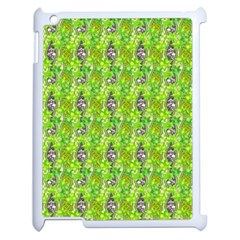 Maple Leaf Plant Seamless Pattern Apple Ipad 2 Case (white)