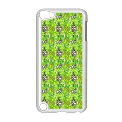 Maple Leaf Plant Seamless Pattern Apple Ipod Touch 5 Case (white)