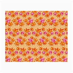 Maple Leaf Autumnal Leaves Autumn Small Glasses Cloth (2 Side) by Pakrebo