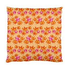 Maple Leaf Autumnal Leaves Autumn Standard Cushion Case (two Sides)