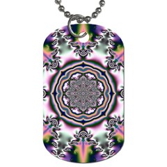 Pattern Abstract Background Art Dog Tag (two Sides) by Pakrebo